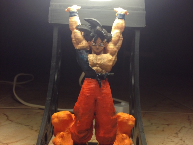Son Goku Spirit Bomb By Dp90pusika Thingiverse