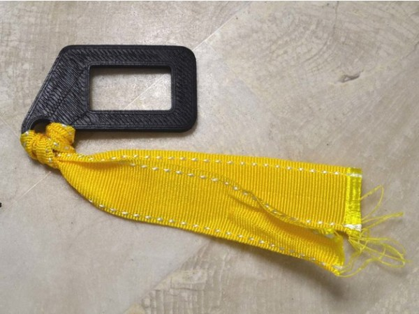 Seat Belt Alarm Stopper for SUBARU by Syumijin Thingiverse