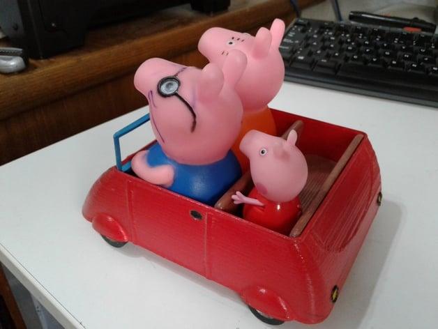 Peppa Pig Car By Sam5400 Thingiverse