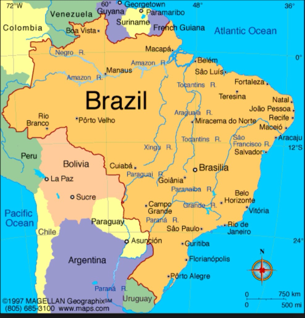 Selling products chile argentina paraguay uruguay south america pinkerton mapa map karte 1815 factory online wholesale. A map of Brazil for the World Cup 2024