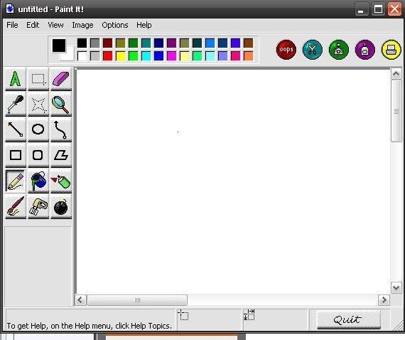 Paint it تعرفي على وظائف الأزرار و الأدوات في برنامج الرسام