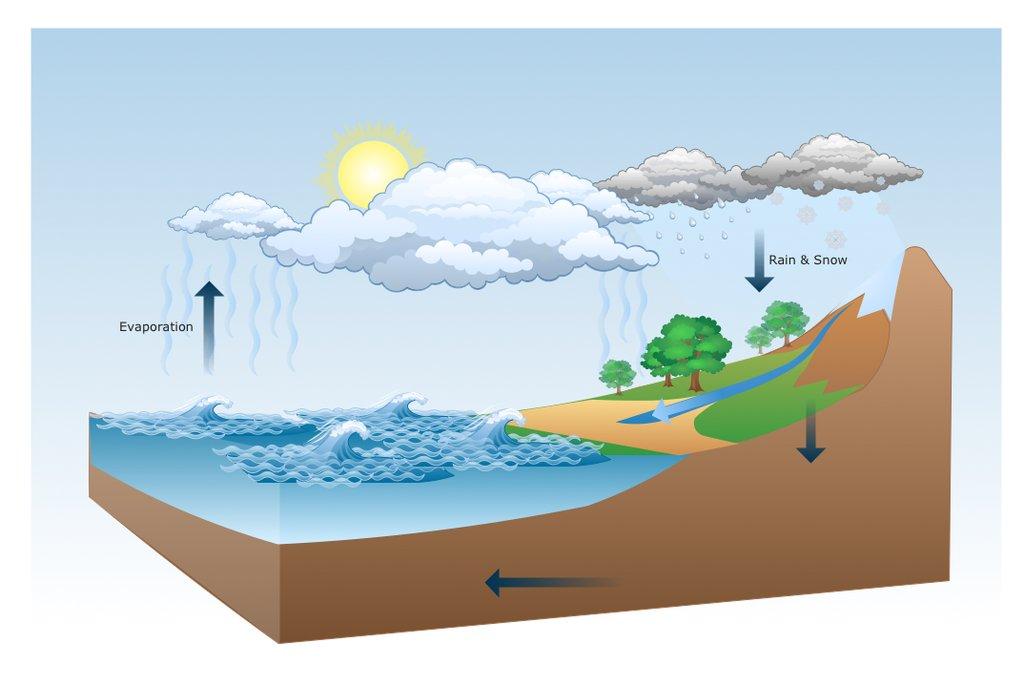 Qarkullimi i ujit ne natyre