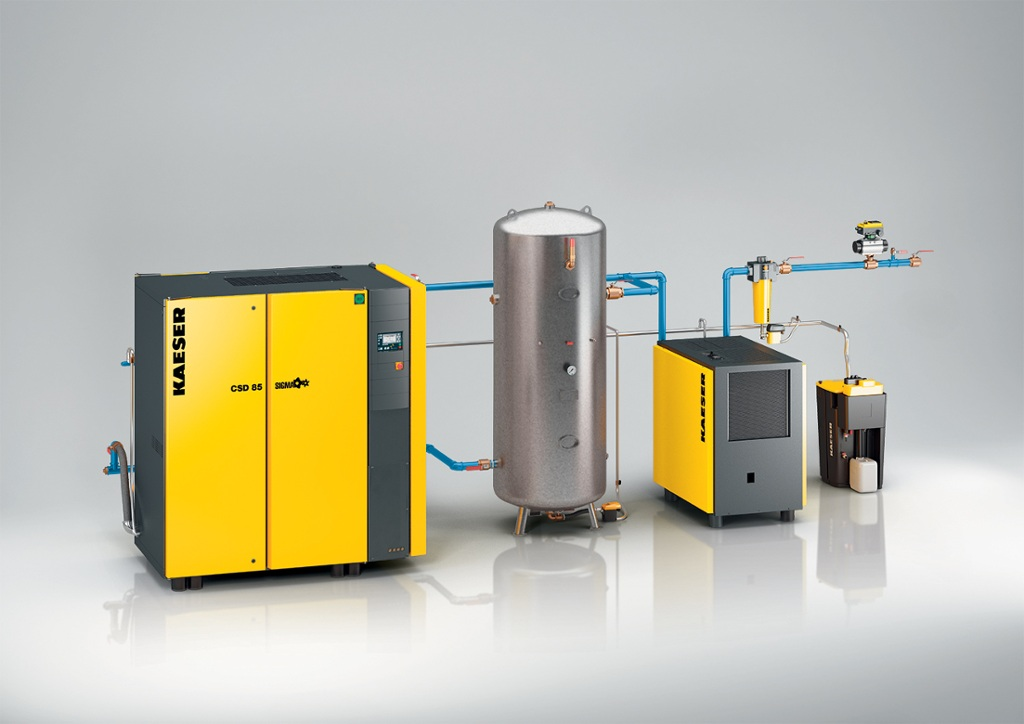 Compressed air systems and services by Kaeser Compressors, Inc