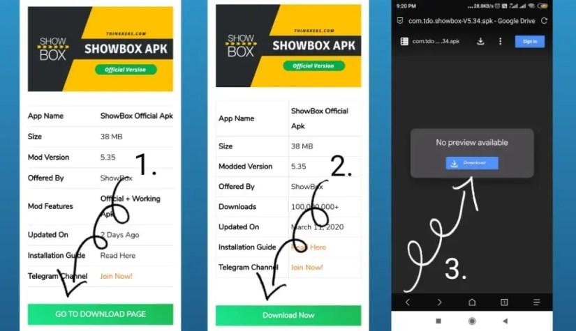download official showbox apk