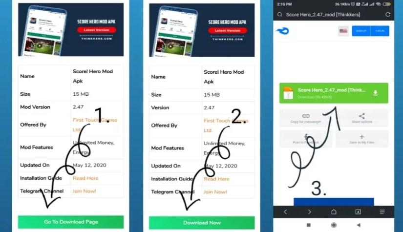 Download Score Hero mod apk