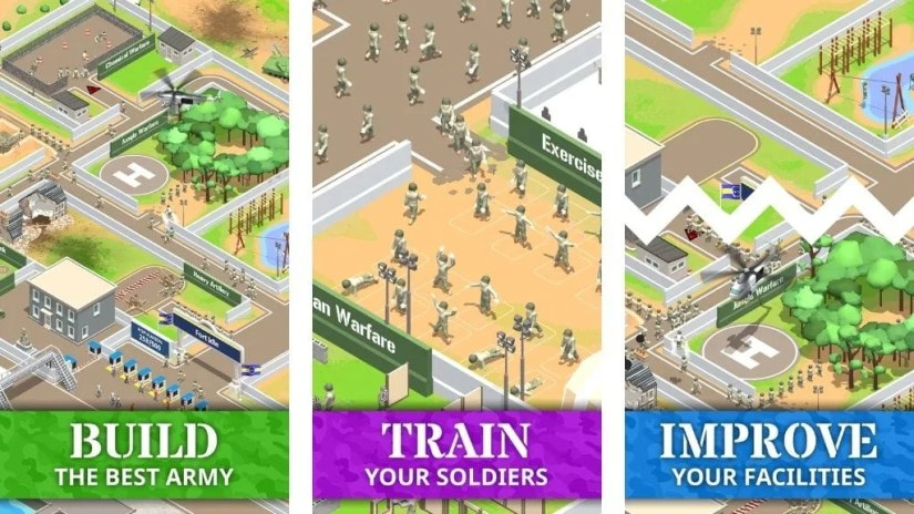 Download Idle Army Base Mod Apk