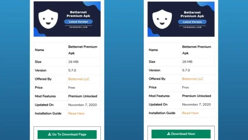 Betternet VPN mod apk download
