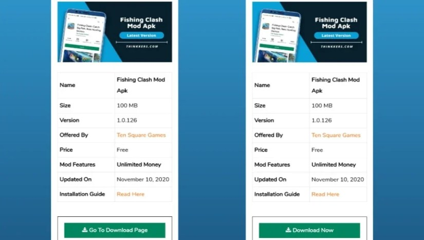 Download Fishing Clash Mod Apk