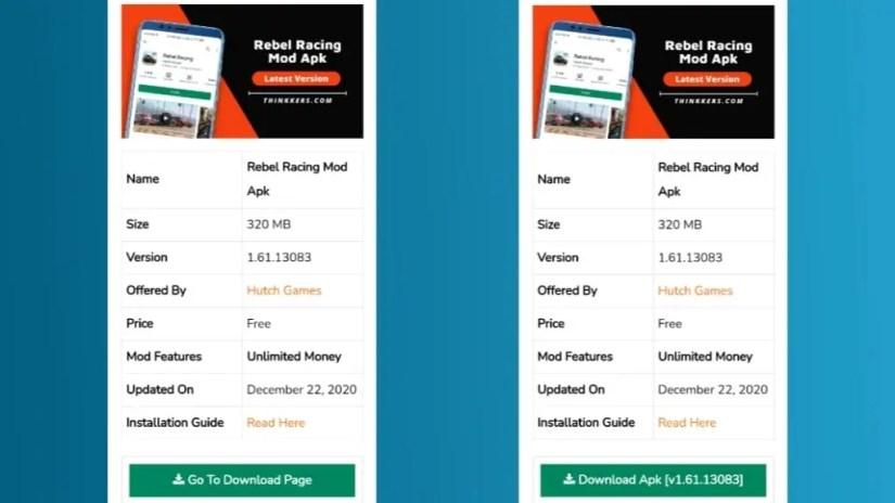 Download Rebel Racing Mod Apk