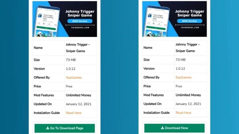 Johnny Trigger Sniper mod apk download