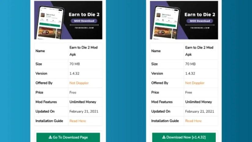 Download Earn to Die 2 Mod Apk