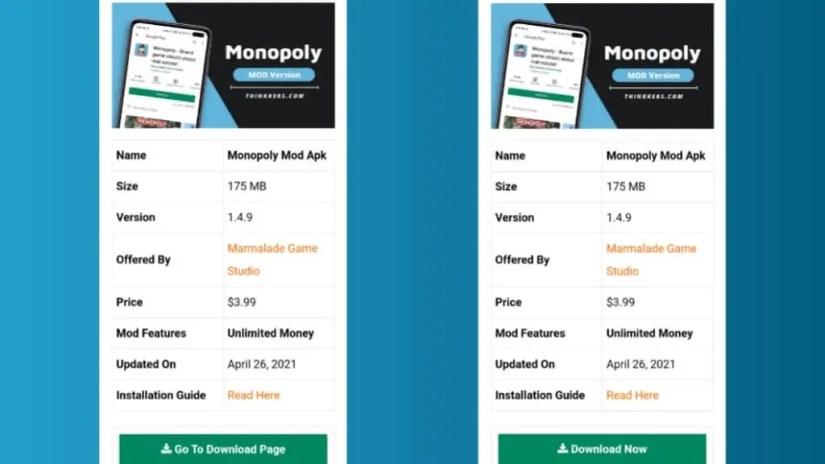 Monopoly Mod Apk Installation