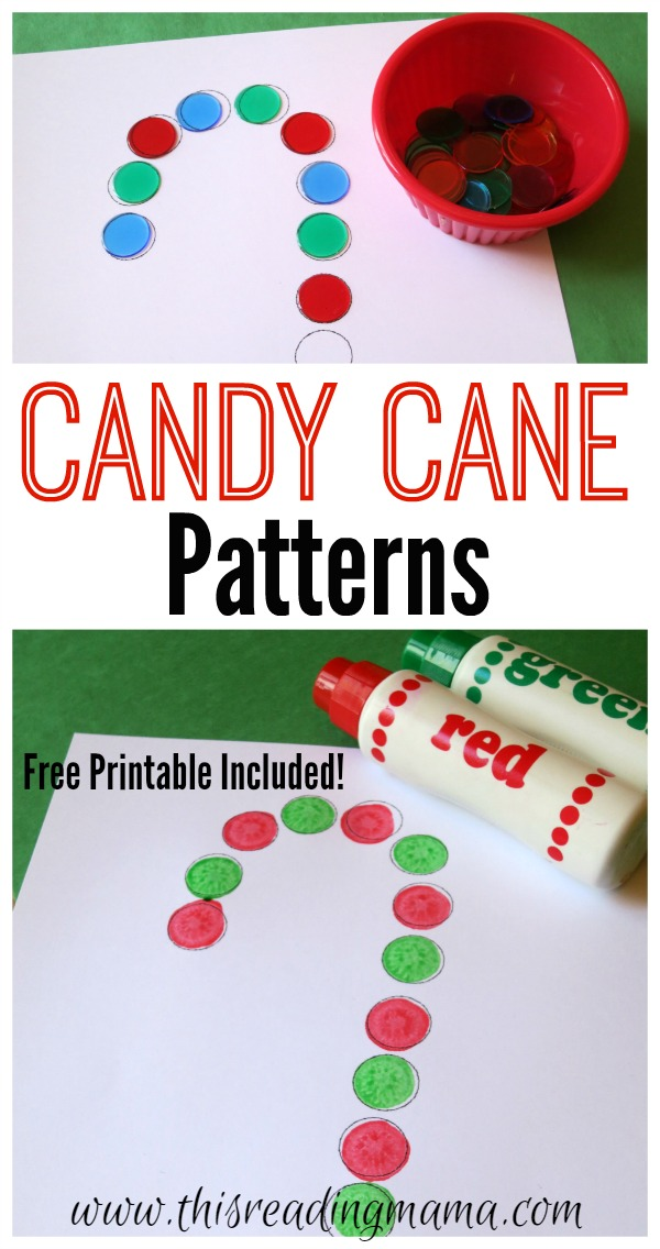 Candy Cane Patterns Free Printable