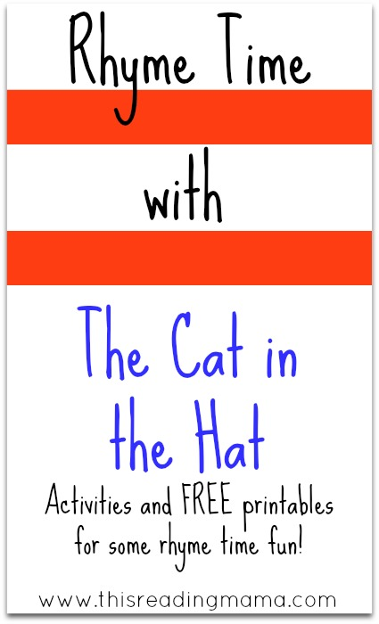 Rhyme Time With The Cat In The Hat