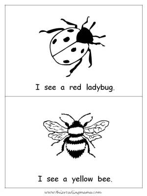 I is for Insect: FREE Printables Included!  This Reading Mama
