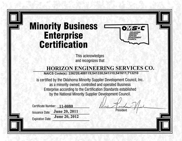Minority Business Enterprise (MBE) Certification ...