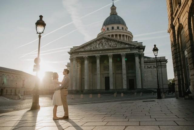Hidden Paris - Couple photography