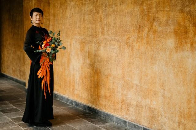 Legacy Yen Tu wedding elopement vietnam ao dai