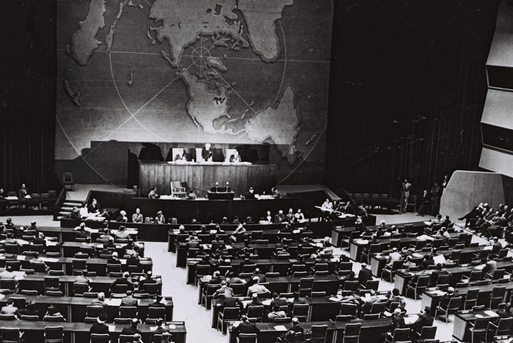 Image result for photo united nations 1947 on israel