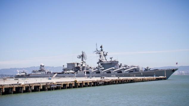 El buque de guerra ruso Varyag (Crédito de la foto: CC BY randychiu, Flickr)