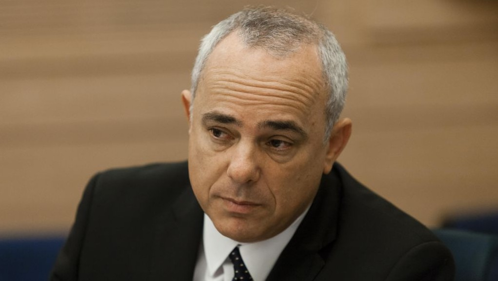 Minister of Intelligence Yuval Steinitz attends a session of the Security and Foreign Affairs Committee in the Knesset, October 16, 2013 (photo credit: Flash90)