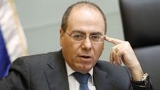 Le ministre de l'Énergie et de l'Eau Silvan Shalom (Crédit : Miriam Alster/Flash90)