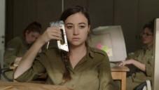 Nelly Tagar dans Zero Motivation, film sur l'armée israélienne de la réalisatrice Talya Lavie (Crédit : autorisation Match Factory)
