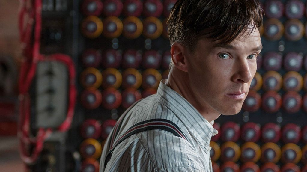 Benedict Cumberbatch in 'The Imitation Game' as Alan Turing, the man chiefly responsible for cracking the vaunted Enigma code used by the Germans in World War II. (courtesy)