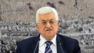 Le président de l'Autorité palestinienne, Mahmoud Abbas, lors d'une réunion le 8 novembre 2014 à Ramallah en Cisjordanie (Crédit : STR/Flash90)