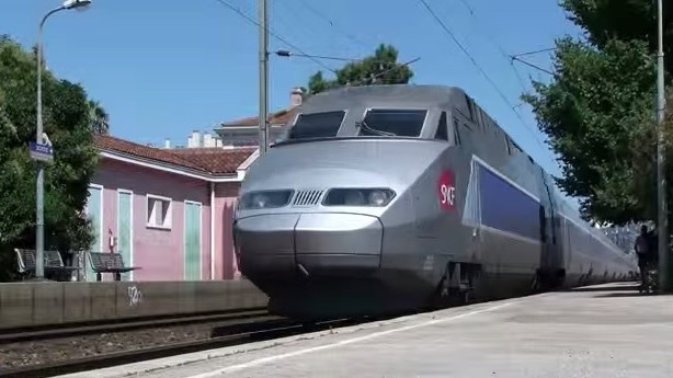 A French SNCF train, illustrative (Photo credit: Youtube screen capture)