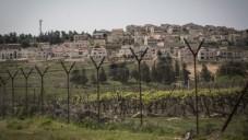 La barrière de sécurité qui sépare Israël de la Cisjordanie (Crédit : Hadas Parush / Flash90)