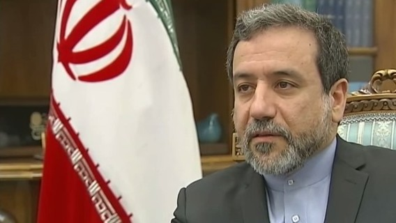 Iranian Deputy Foreign Minister Abbas Araqchi (YouTube screen capture/Channel 4 News)