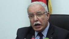 Le ministre de l'Autorité palestinienne des Affaires étrangères Riyad al-Maliki (Crédit : Issam Rimawi / Flash90 / File)