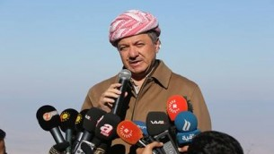 Massoud Barzani, président de la région autonome du Kurdistan irakien. (Crédit : Facebook)