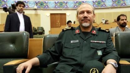 Général Yahya Rahim Safavi (Crédit : capture d'écran YouTube)