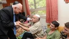 Rivlin a présenté ses condoléances à la famille de Malachie Rosenfeld (DR)