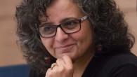 La députée Aida Touma-Sliman de la liste arabe unie assiste à une séance de la commission sur la condition de la femme et l'égalité des sexes du Parlement israélien le 8 juin 2015 (Crédit photo: Miriam Alster / Flash90)