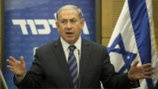 Le Premier ministre Benjamin Netanyahu  lors d'une réunion de groupe parlementaire du Likud à la Knesset, le 6 juillet 2015 (Crédit photo: Hadas Parush / Flash90)