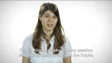 "Capture d'écran : vidéo YouTube ""Predicting the Future - Kira Radinsky Technion Alumna"""