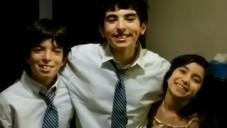 Les 3 enfants retenus en détention pour ne pas avoir refusé d'avoir rencontré leur père qui bat leur mère (Crédit : capture d'écran YouTube)