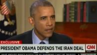 Obama s'exprimant sur CNN, le 9 août 2015