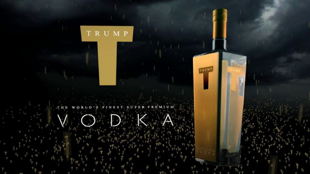 Image result for photos of trump vodka