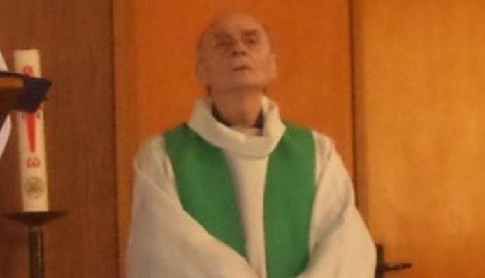 84-year-old French priest Jacques Hamel was killed in an apparent Islamic State attack on his church in the town of Saint-Etienne-du-Rouvray, in Normandy on July 26, 2016 (Photo from Twitter)