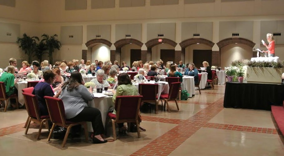 At evangelical leader Jeanne Nigro's seder in Plano, Texas. (Courtesy)