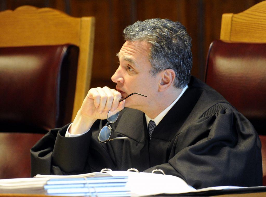 New York Court of Appeals Associate Judge Michael J, Garcia, June 1, 2016, file photo (AP/Hans Pennink, File)