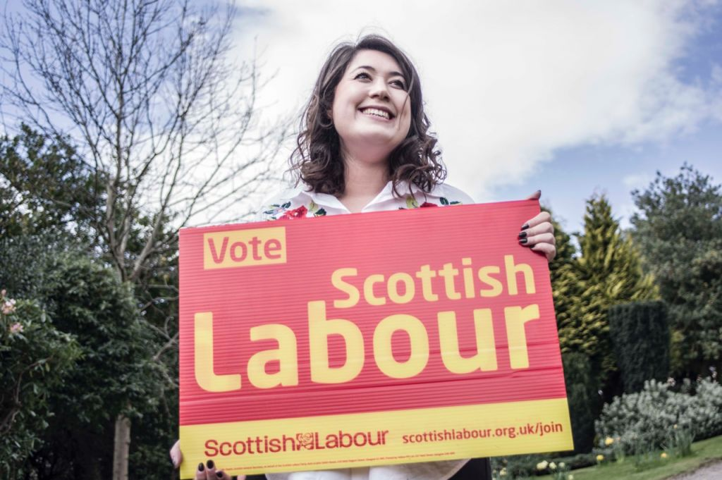 Rhea Wolfson, standing for Labour in Livingston, Scotland. (Courtesy)