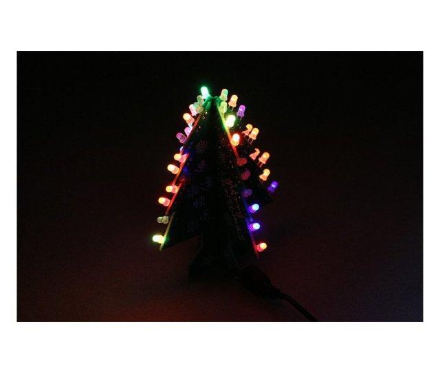 Diy Flashing And Music Christmas Tree Circuit Kit