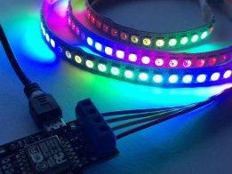 ElectroMage Pixelblaze V2 - WiFi LED Controller
