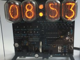 MSP430 Nixie Clock kit