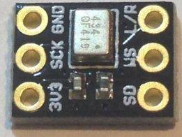 ICS43434 I2S Digital Microphone